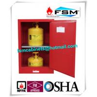 China Durable Fireproof Paint Storage Lockers 12 Gallon For Combustible Liquid wholesale