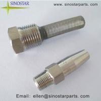 Stainless steel trimming solid stream nozzles of ec
