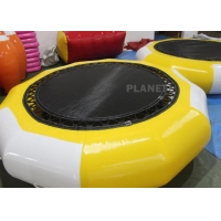 China Summer Jump Floated PVC Inflatable Water Trampolines wholesale