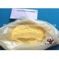China Effective Trenbolone Enanthate Injection , Parabolan Steroid Yellow Powder For Fat Loss wholesale