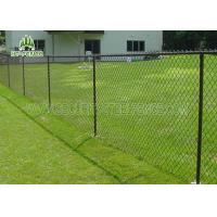China Vinyl Coated Steel Chain Link Fence Ant I- Ultraviolet For Highway Or Airport wholesale
