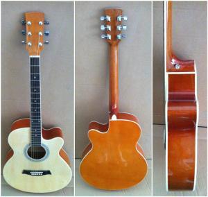 "China 40"" Wood Acoustic Guitar wholesale"