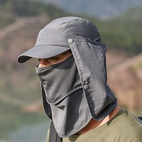 China 58cm Outdoor Sport Hats With Mask Ear Protection Fleece Cap Washable wholesale