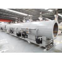 China 110 - 315 MM PVC PP Plastic Pipe Moulding Machine With Double Cavity Vacuum Sizing Tank wholesale
