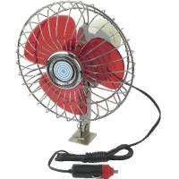 China YF207B Red And Silver Chrome Car Cooling Fan12V / 24V For Vehicle wholesale