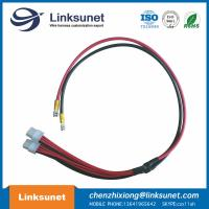 China 3901 - 2060 PVC Custom Made Wiring Harness UL1007 18AWG / UL1015 10AWG RV5.5 - 6 wholesale