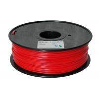 China red color 3d printer filaments pla 3.0mm 1kg plastic for ultibot wholesale