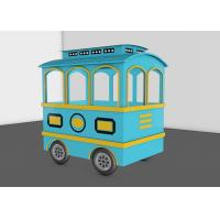25 Seats Kids Trackless Train Amusement Ride For Theme And Amusement Parks