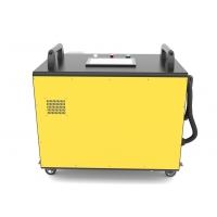 Buy cheap 100W Handheld Fiber Laser Cleaning Machine for Paint and Rust Removal from wholesalers