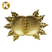 China Sunflower Shape T Shape Metal Shoe Buckles New Style Metal Zinc Alloy Material on sale