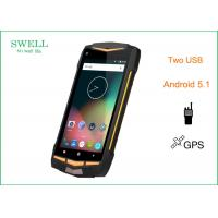 China Original 4G LTE Rugged Waterproof Smartphone , IP68 UHF VHF Long Distance Walkie Talkie wholesale