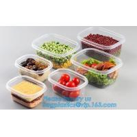 China vacuum plastic container with lid for keep fresh storage box,Vacuum Fresh Box/ Food Container/Storage Box for Food pack on sale