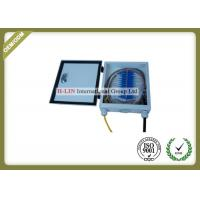 China Outdoor Fiber Optic Termination Box 12 Cores With Cold Roll Steel Material wholesale