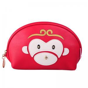 China Portable L21.5*D8*H13 Cm  Ziplock PU Cosmetic Bag on sale