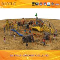 Cargo Net Climbing Wall , Childrens Climbing Net Outdoor For Parks