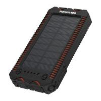 China 12000MAh Portable Solar Panel Power Bank Waterproof Dustproof Poweradd Solar Charger wholesale