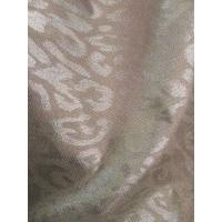 Quality single side 100%silver fiber flower printed anti radiation fabric for sale