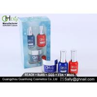 Colorful 3 In 1 Perfect Color Match Acrylic Dip Powder Kit For Fingernail Beauty