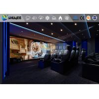 China 18 Persons 5D Movie Theater With Special Effect System 3DOF Pneumatic Motion Chairs wholesale