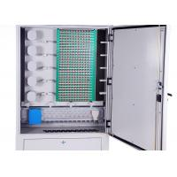 China IP65 Cold Rolled Steel Fiber Optic Distribution Cabinet 288 Cores Distribution Connection wholesale