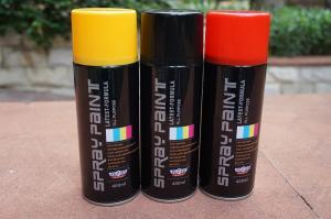 China Solvent Automotive Base Coat Aerosol Transparent Spray Paint For Plastic wholesale