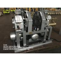 China Stable performance 40bar 85cfm High pressure piston air compressor for moulding machine on sale wholesale