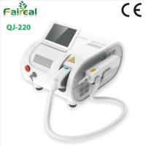 Portable IPL Laser Leg Tatoo / Eye Line Ramoval Machine , Soft Laser Machine