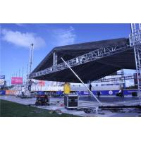 China Lightweight 12 Inch Concert Stage Roof Truss / DJ Truss Stand Roof Frames wholesale