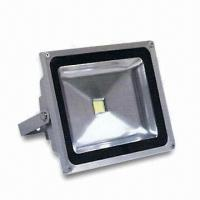 China LED Outdoor Floodlight, 85 to 265V AC Voltage/20W Power, CE Certified, RoHS Directive-compliant wholesale