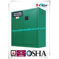 China Safety Hazardous Storage Cabinets , Hazmat Storage Locker For Agriculture Pesticide wholesale