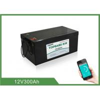 China Home Energy Storage Battery 12V300Ah  , 150 ~ 200A Discharge , 4pcs In series For 48V wholesale