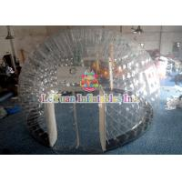 China PVC Material Layer Clear Inflatable Airtight Tent Transparent Bubble Tent With Door wholesale