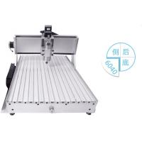 China four axis CNC Router 6040 800W/1.5KW spindle + 4axis + tailstock engraving mahcine wholesale