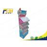 Buy cheap POP Custom Free Standing Cardboard Display Corrugated Paper Floor Display from wholesalers