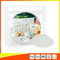 """China Silicone 8 """" Kitchen Non Stick Baking Sheet / Parchment Paper For Cooking wholesale"""