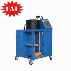 China Airsusfat Hydraulic Hose Crimp Machine Repair / Rebuild Air Suspension Shock For Vehicle Air Springs 12 Die Sets wholesale