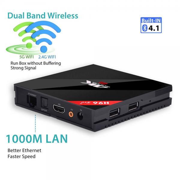 [Germany Stock]H96 PRO Plus KODI 17.3 Android 7.1 Amlogic S912 TV BOX 4K 3GB/32GB 802.11AC WIFI 1000M LAN