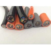 China Special Cable for Drag Chains TRVV for machine or equipments bending frequently in grey/black/orange Color wholesale