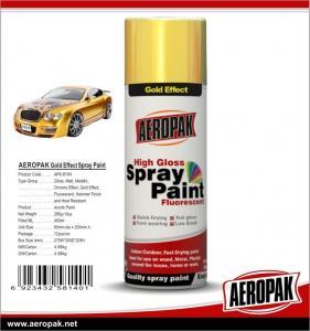 China AEROPAK Metallic spray paint, all purpose auto acrylic resin paint wholesale
