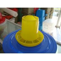 China Chicken feeders and drinkers suppliers yellow plastic poultry feeders wholesale