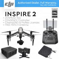 China DJI INSPIRE 2 RAW LC3 + Cendence + X5S + Cinema DNG, ProRes + FREE PATCH Antenna and Hard Case wholesale