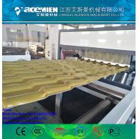China tile roll forming machine, glazed tile forming machine,PVC ASA glazed tile making machine wholesale
