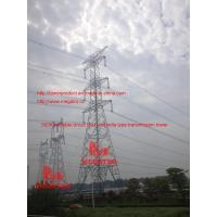 China 500KV double circuit  SJT umbrella type transmission tower wholesale
