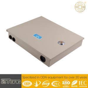 China High Mechanical Strength Optical Fiber Distribution Box Long Service Life on sale