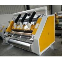 China Single Facer 2 Layer Corrugated Cardboard Machine 1600mm Suction Type on sale