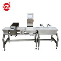 China Automatic Alarm Light Combined Convey Belt Food Metal Detector Checkweigher wholesale