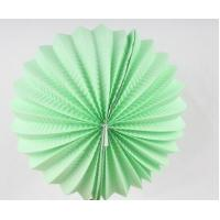 China Custom Patterned Printing Accordion Paper Lanterns Round For Home Decoration wholesale