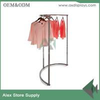 China Clothing display ideas cabinet rack clothes rack women store clothing plus size shop decoration wholesale