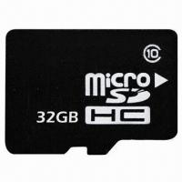 China MicroSD Cards, Memory Card with 1 to 32GB Capacities, 15Mbps High Reading Speed wholesale