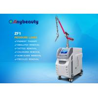 China 532nm 1064nm 755nm Picosecond Laser Tattoo Removal Equipment With Korea Arm on sale